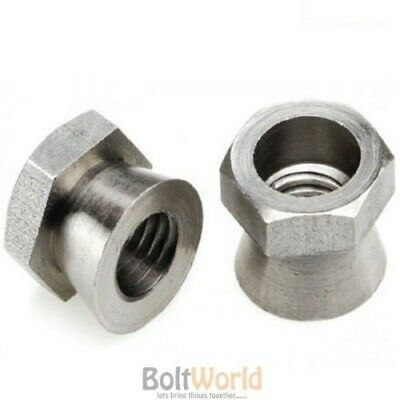 £5.08 • Buy Security Shear Nuts A2 A4 Stainless Steel / Zinc Galvanised For Saddle / T Bolts