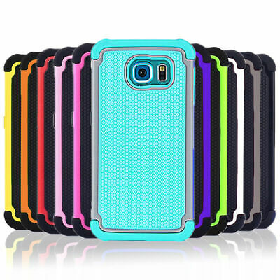 AU6.75 • Buy Shockproof Heavy Duty Case Tough Tradie Cover For Samsung Galaxy S7 S8 Plus Edge
