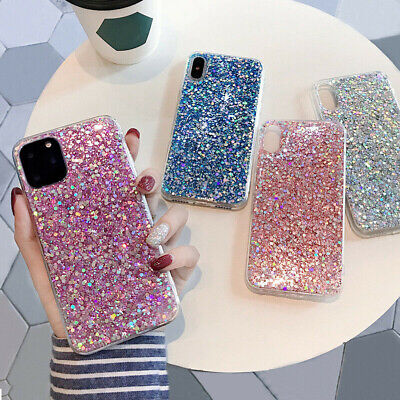 AU5.03 • Buy Bling Sparkle Glitter Soft Case Cover For IPhone 12 Mini 11 Pro Max XS XR 8 7 6+