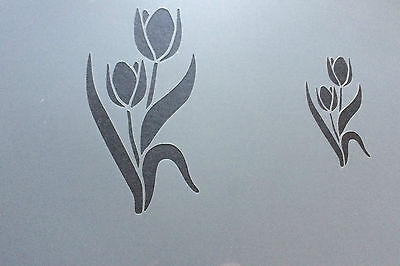 £3.99 • Buy  Tulips Flower Floral A4 Mylar Reusable Stencil Airbrush Painting Art Craft