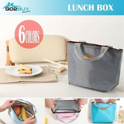 AU4.55 • Buy Portable Thermal Insulated Cooler Waterproof Picnic Lunch Box Storage Bag Pouch