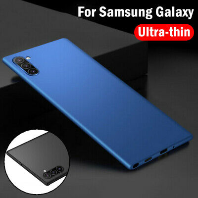 AU4.19 • Buy Ultra Thin Slim Matte Hard Case Cover For Samsung S20 S8 Note 10 Plus J7 A7 2018