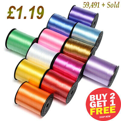 £1.69 • Buy 30 Meters Balloon Curling Ribbon For Party Gift Wrapping Balloons String Ribon/