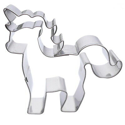 AU14.15 • Buy Small Unicorn Cookie Cutter - Stainless Steel