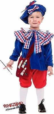 Italian Made 5Pc Boys French Artist Carnival Book Day Fancy Dress Costume Outfit • 34.99£