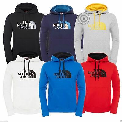 View Details The North Face Mens Peak Fleece Lined Hooded Overhead Pullover Jumper Top Hoodie • 34.99£