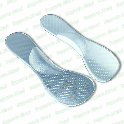 High Heel Gel Foot Arch Supports Pad Shoe Cushion Insert Insole Flat Feet Fallen • 2.99£