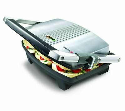 £31.99 • Buy BREVILLE VST025 Cafe-Style Sandwich Press - Brushed Stainless Steel - Currys