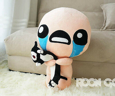 AU28.71 • Buy The Binding Of Isaac Stuffed Plush Toy With Cat Soft Doll ISSAC Collection 35cm