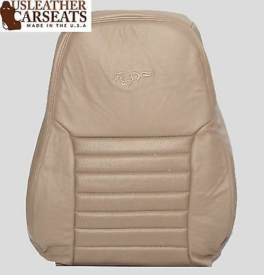 $189.99 • Buy 1999-2004 Ford Mustang GT V8 Driver Side Lean Back Leather Seat Cover Tan