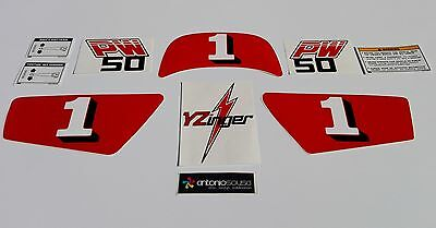 $ CDN59.27 • Buy PW50 PW 50 Pee Wee Decals Graphics Autocolants Adesivi Stickers