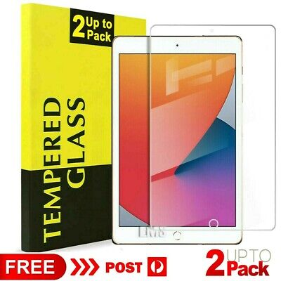 AU12.99 • Buy 2X Tempered Glass Screen Protector For Apple IPad 7th /6th /5th Gen Mini Air 1 2