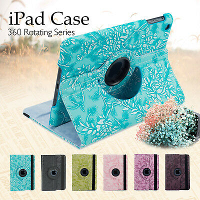 AU12.95 • Buy Leather Smart Case Rotating Cover For Apple IPad 5 4 3 2 Mini Air 1 Pro 9.7 10.5