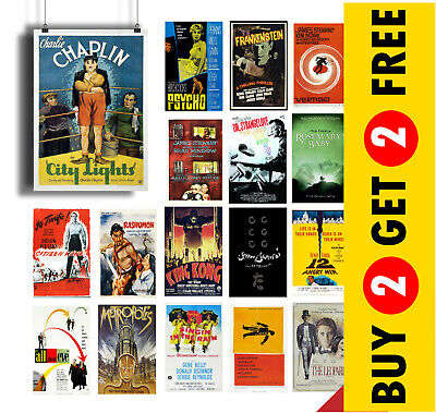 $ CDN6.90 • Buy CLASSIC CULT MOVIE Poster Options, A4 A3 Size Film Wall Art Print Valentines Day