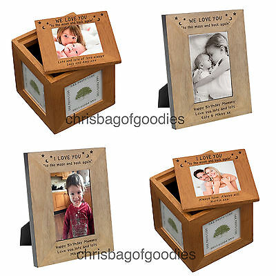 £20.50 • Buy PERSONALISED I WE LOVE YOU TO THE MOON AND BACK AGAIN Gifts Presents For Her Him