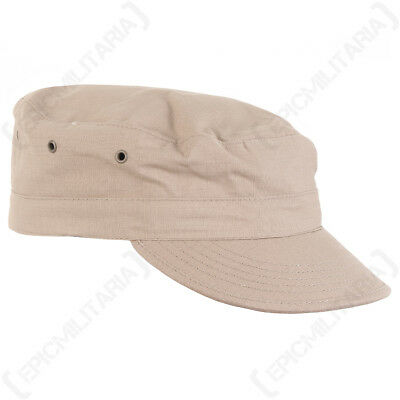 £7.95 • Buy US Khaki BDU CAP All Sizes American Army Style Coyote Field Hat Ripstop Military