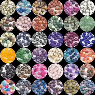 $ CDN3.07 • Buy Wholesale Natural Matte Gemstone Spacer Loose Beads Stone 4mm 6mm 8mm 10mm 12mm