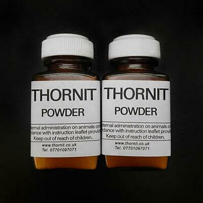 £18.98 • Buy 2 X 20g -THORNIT Powder ORIGINAL PROVEN 100 Year Formula For EAR MITES DOGS CATS