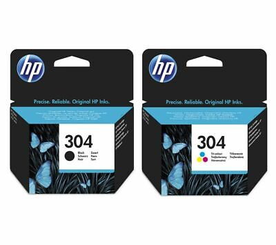 HP Combo 304 Tri-colour & Black Ink Cartridges - Twin Pack - Currys • 26.99£