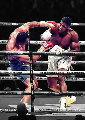 £8.99 • Buy ANTHONY JOSHUA POSTER Klitschko Boxing Gym Wall Art Print Picture Photo A3 A4