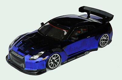 1:10 RC Clear Lexan Body Shell Nissan GTR35 190mm Electric Colt Suit Tamiya • 23.04£