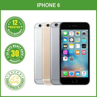 AU256.95 • Buy New Sealed Box Apple IPhone 6 128GB Grey Silver Gold 4G LTE Smartphone Unlocked