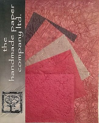 £2.99 • Buy 20 Sheets Mulberry Paper In 2 Sizes /Scrap Book/Decoupage/Art/Craft *Burgundy