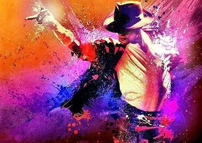 MICHAEL JACKSON POSTER 'This Is It' Live Wall Art Photo Poster A3 A4  • 8.99£