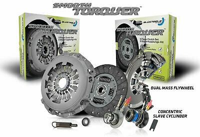 AU1798.32 • Buy Blusteele Dual Mass Flywheel Clutch Kit For Mercedes Benz SL280 R129 2.8L 98-01
