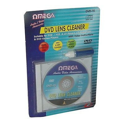 £4.99 • Buy Wet & Dry CD DVD VCD Xbox PS2 PS3 Stereo Head Lens Cleaner Disc & Cleaning Fluid