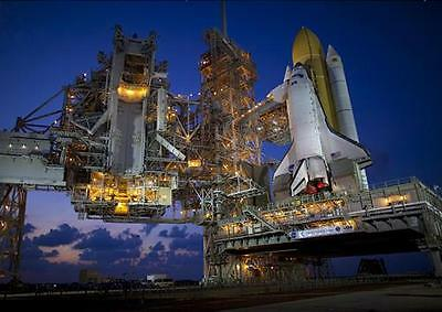 SPACE SHUTTLE LAUNCH POSTER Atlantis Discovery Columbia Print Photo Poster A4 A3 • 8.99£