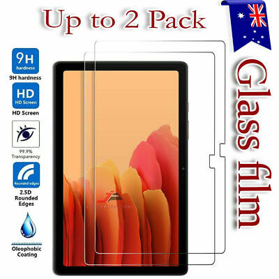 AU10.49 • Buy 2X Tempered Glass Screen Protector Samsung Galaxy Tab A S2 S3 S4 7.0 8.0 10.1