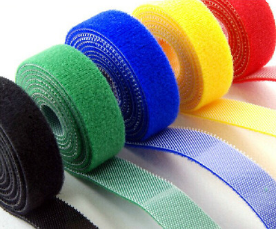 Double Sided Hook And Loop Tape Fastener 10mm 15mm 20mm Cable Ties Straps • 4.56£