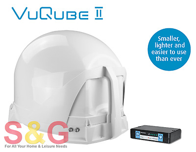 Maxview Vuqube 2 Fully Automatic Satellite System Twin Lnb • 729£