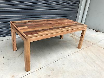 AU1919 • Buy Aus Made Recycled Hardwood Veromont Dining Table 8 Seater