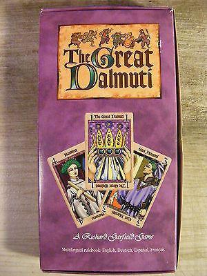 The Great Dalmuti Medieval Card Game From Wizards Of The Coast (1995) NEW! • 25.99$