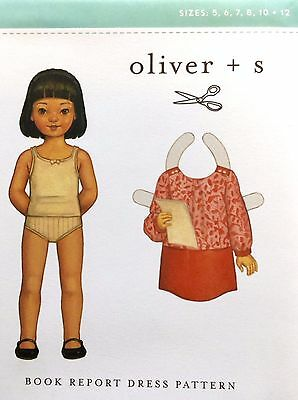 £9 • Buy Oliver And S Sewing Pattern - Book Report Dress - 5 - 12 Years