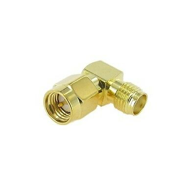 £2.65 • Buy SMA Male To SMA Female Right Angle Connector - UK Seller
