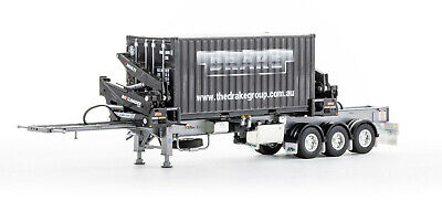 £163.10 • Buy Drake ZT09245 O'Phee BoxLoader Side Loading Trailer & Container - O'Phee 1:50