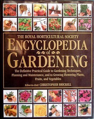 Royal Horticultural Society Gardeners' Encyclopedia Of Plants And Flowers By Ch • 3.02£