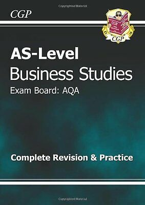 AS-Level Business Studies AQA Complete Revision & Practice (Revision Guide) By • 1.92£