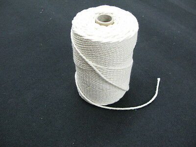 WHITE PIPING CORD BLEACHED 4 Mm 5 Mm 6 Mm  WASHABLE COTTON UPHOLSTERY CUSHIONS   • 8.80£