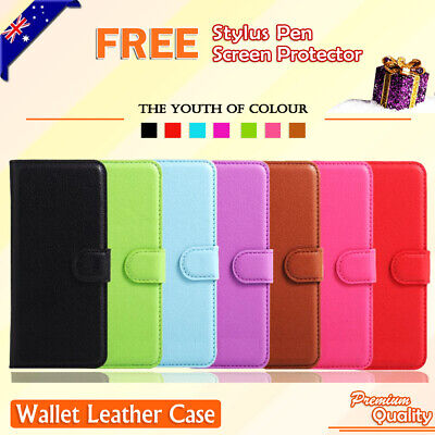 AU6.25 • Buy For Motorola Moto C | Moto E4 Case Wallet Card Slots Leather Flip Case Cover