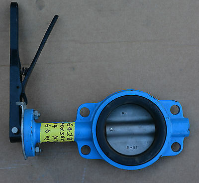 AU110 • Buy  DN100 4  Inch CF8M Butterfly Valve Lever Actuated NEW