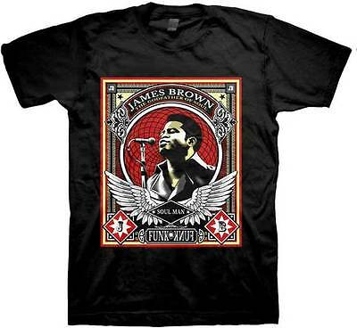 $15.99 • Buy JAMES BROWN The Godfather Of Soul T SHIRT S-M-L-XL-2XL New Official JSR Merch