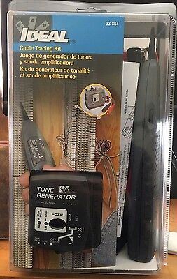 £56.08 • Buy IDEAL Cable Tracing Kit 33--864/ Tone Generator-New In Box