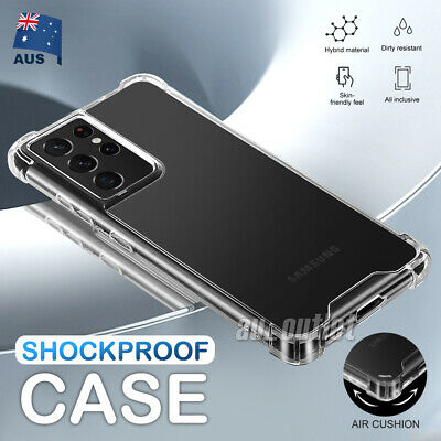 AU4.99 • Buy Samsung S21 Ultra S20 S10 S9 Note 20 5G Plus Case Shockproof Tough Bumper Cover