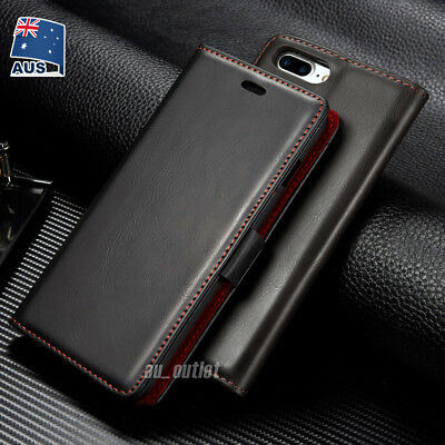 AU11.99 • Buy IPhone XS MAX XR X 8 7 Plus Luxury Flip Cover Wallet Card Leather Case For Apple
