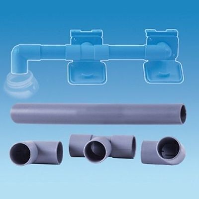 Caravan Waste Water Pipe Outlet Hose Drain Away Connection Kit 28.5mm • 6.99£