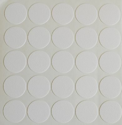 £1.99 • Buy 18mm Self Adhesive Cam Screw Hole Cover Cap White Furniture Cabinet Bookcase